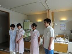 2015年7月7日中学生の職場体験3