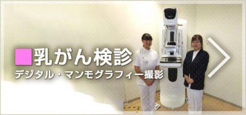 クリックして「乳がん検診デジタル・マンモグラフィー」へ移動します
